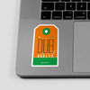 DUB - Sticker - Airportag