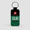 DUR - Leather Keychain - Airportag