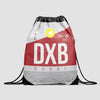 DXB - Drawstring Bag - Airportag