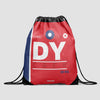 DY - Drawstring Bag - Airportag