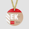 EK - Ornament - Airportag
