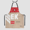 EK - Kitchen Apron - Airportag
