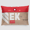 EK - Pillow Sham - Airportag
