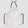 Emoji Heart Plane - Kitchen Apron