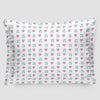 Emoji Heart Plane - Pillow Sham