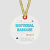 Emotional Baggage - Ornament - Airportag