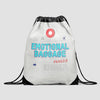 Emotional Baggage - Drawstring Bag - Airportag