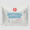 Emotional Baggage - Pillow Sham - Airportag