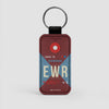 EWR - Leather Keychain