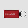Experimental - Leather Keychain - Airportag