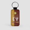 EY - Leather Keychain - Airportag
