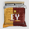 EY - Duvet Cover - Airportag