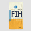 FIH - Beach Towel - Airportag