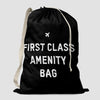 First Class Amenity Bag - Laundry Bag