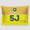 5J - Pillow Sham - Airportag