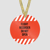 Flight Recorder - Ornament - Airportag