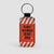 Flight Recorder - Leather Keychain