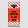 Flight Recorder - Phone Case