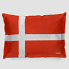 Danish Flag - Pillow Sham
