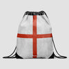 England's Flag - Drawstring Bag