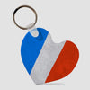 French Flag - Keychain - Airportag
