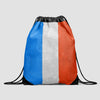 French Flag - Drawstring Bag