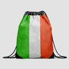 Italian Flag - Drawstring Bag - Airportag