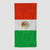 Mexican Flag - Beach Towel