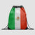 Mexican Flag - Drawstring Bag