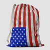 USA Flag - Laundry Bag - Airportag