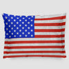 USA Flag - Pillow Sham - Airportag