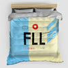 FLL - Duvet Cover - Airportag