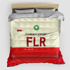 FLR - Duvet Cover - Airportag