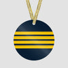 Pilot Stripes - Ornament