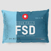 FSD - Pillow Sham - Airportag