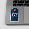 FUK - Sticker