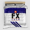 FX - Duvet Cover - Airportag