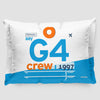 G4 - Pillow Sham - Airportag