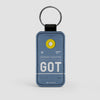 GOT - Leather Keychain - Airportag
