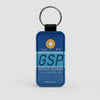GSP - Leather Keychain
