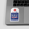 HAV - Sticker