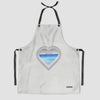 Heart Window - Kitchen Apron