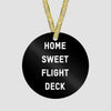 Home Sweet Flight Deck - Ornament - Airportag