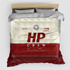 HP - Duvet Cover - Airportag