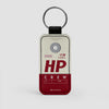 HP - Leather Keychain - Airportag