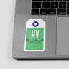 HV - Sticker