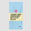 I Haven't Been - Beach Towel - Airportag