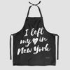 I Left My Heart - Kitchen Apron