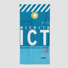 ICT - Beach Towel - Airportag