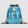 ICT - Drawstring Bag - Airportag